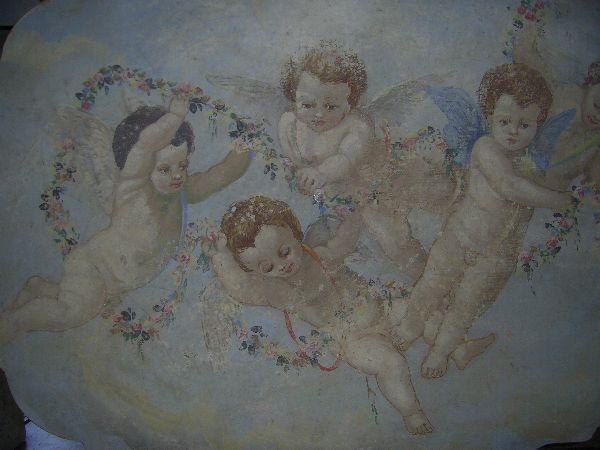Arte mestieri restauro quadri e affreschi for Quadri con angeli