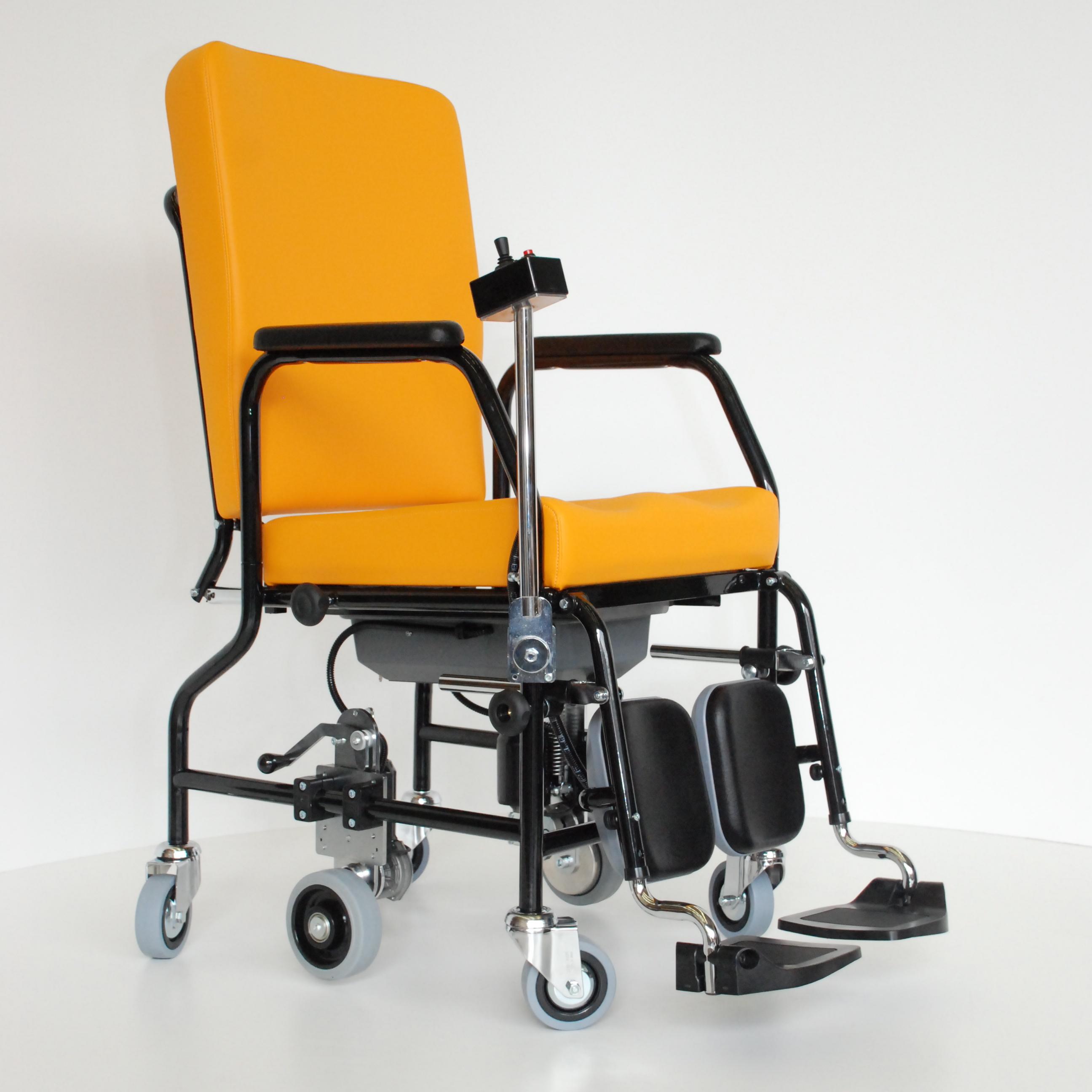 Tec meca snc carrozzine elettriche per disabili - Carrozzina per bagno disabili ...