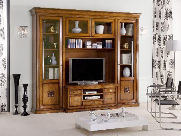 Mobili di palma arredamento casa mobilifici vendita mobili ogliara salerno - Parete attrezzata ciliegio ...