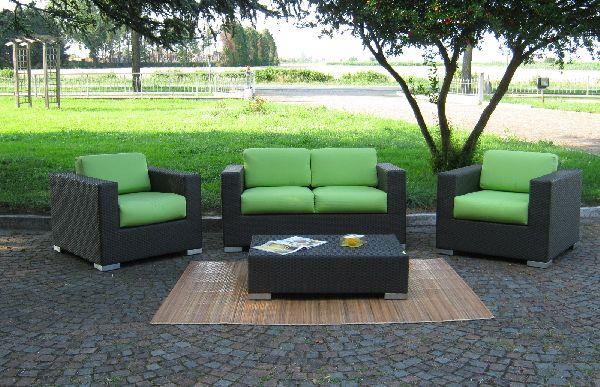 Giunco casa arredamento per interni ed esterni mobili - Mobili da giardino rattan sintetico ...