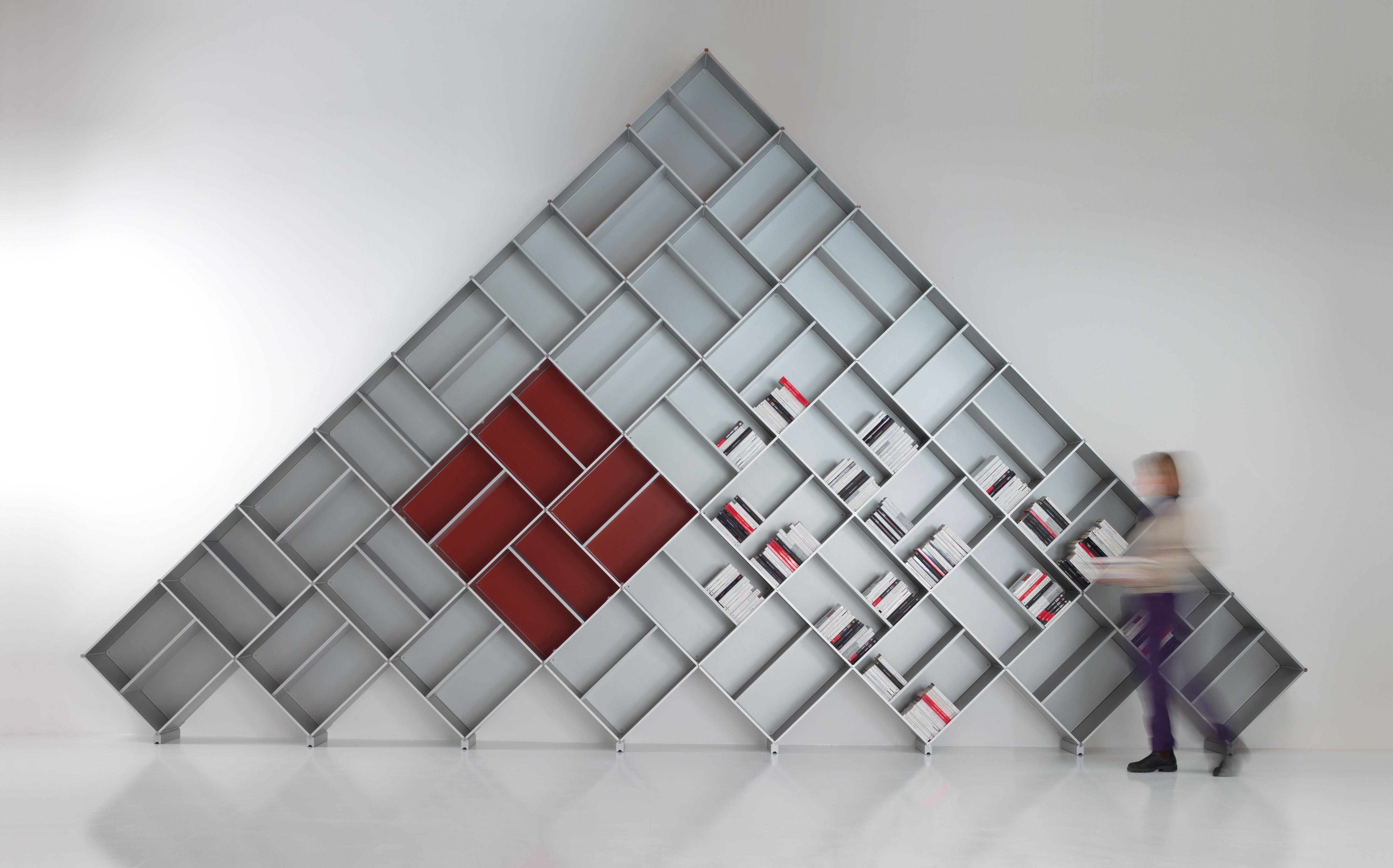 Fitting produzione librerie di design mobili componibili mirano