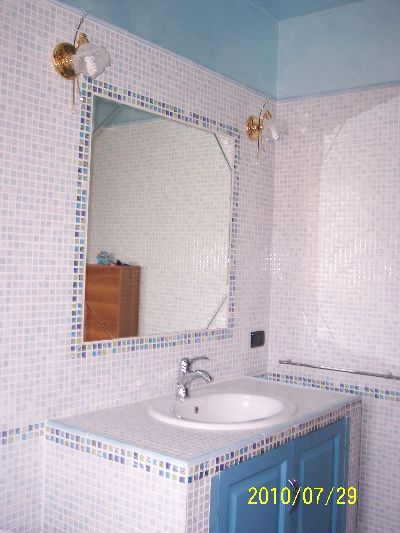 Bagni Con Mosaico. Beautiful Interesting Bagno In Marmo Alba Chiara ...