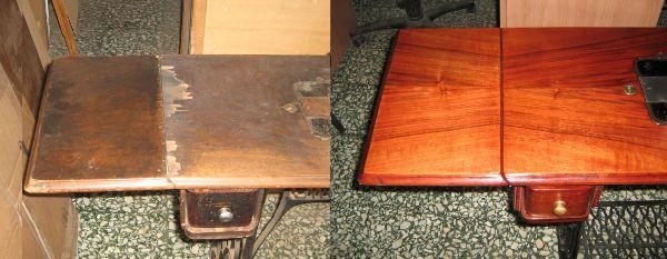 Idearredo restauro mobili di giovanni de fazio - Impiallacciatura mobili ...