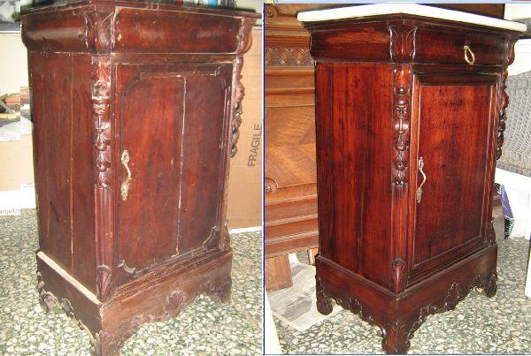 Idearredo restauro mobili di giovanni de fazio - Restauro mobili genova ...