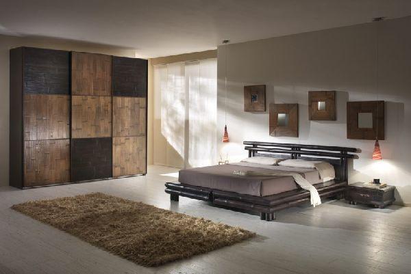 Letto bambu tao black in esposizione offerta 630 00 for Arredamento etnico padova