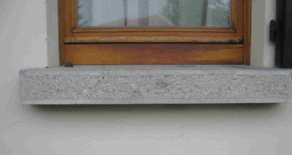 Edilcementi carbon antonio manufatti in cemento for Davanzali interni per finestre