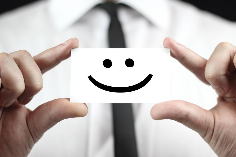 Dipendente felice