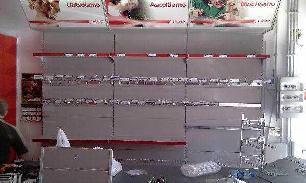 Scaffali A Gondola Usati.Scaffalature Metalliche Usate Barrale Centro Gamma Palermo Palermo